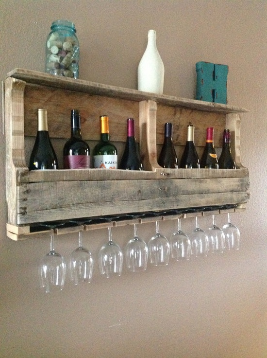 Pallet Wine Rack | Creativity Collective